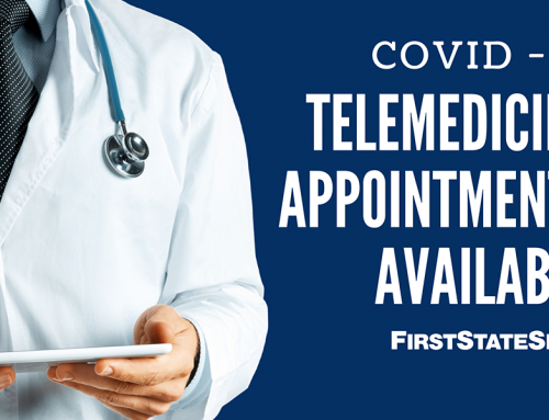 Telemedicine Appointments Available!