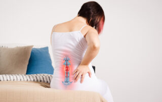 woman with degenerative disc disease