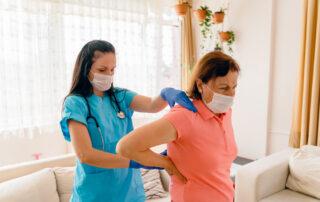 patient with sciatica